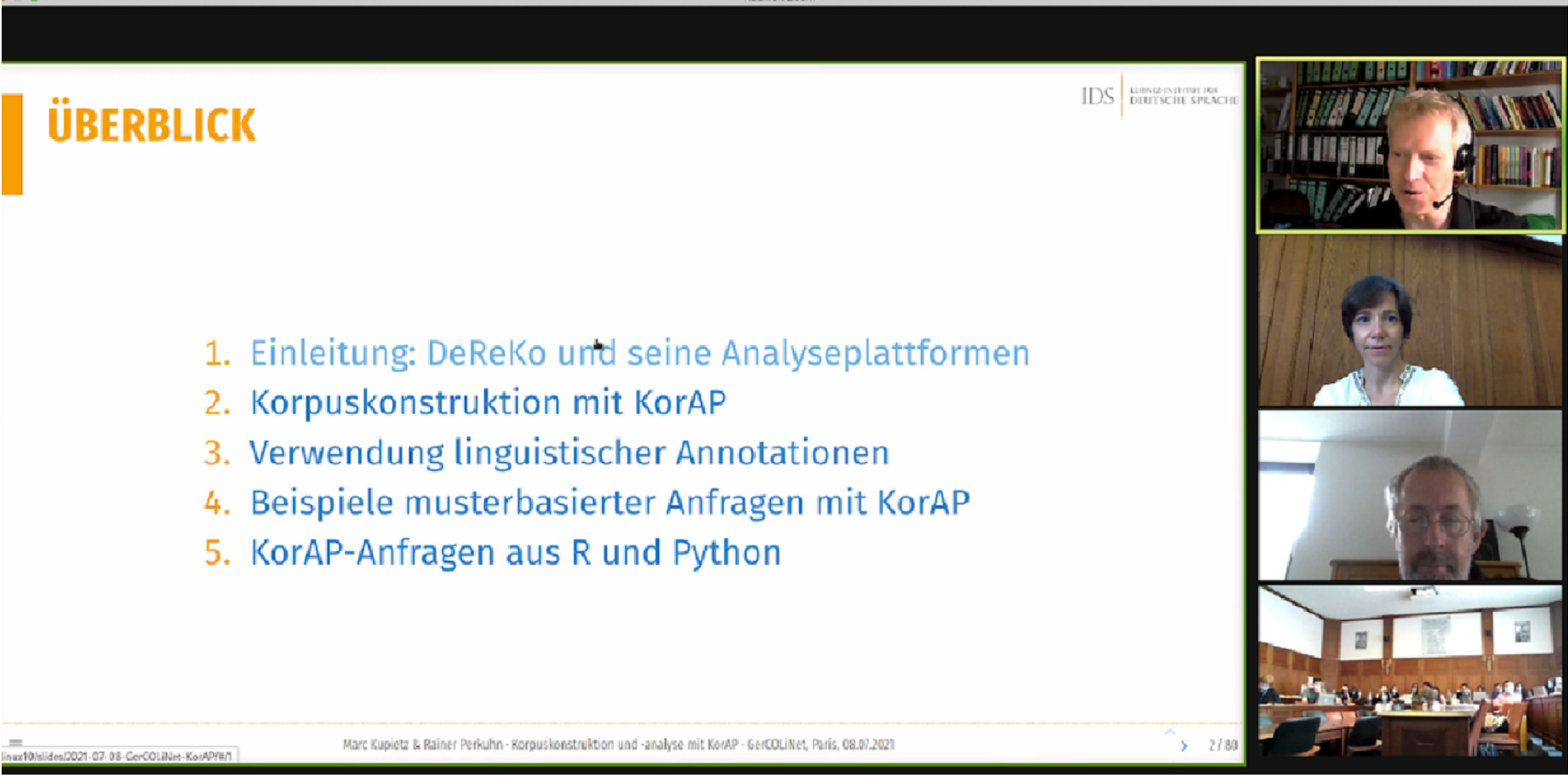 Talk_Marc Kupietz